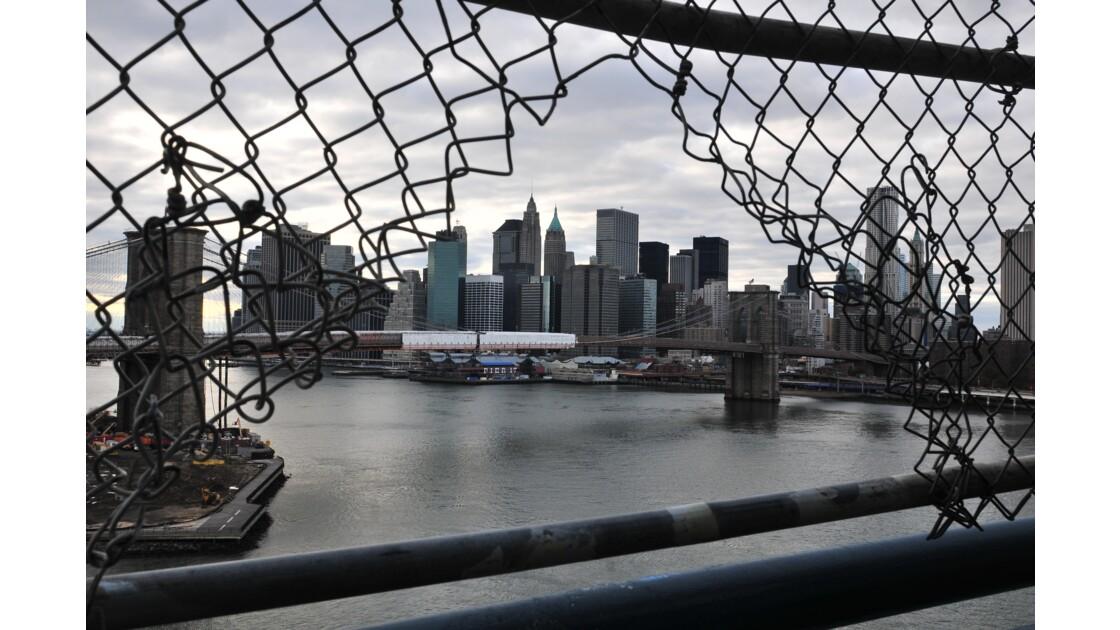 Brooklyn Bridge et South Manhattan