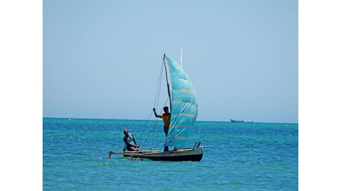 Madagascar Port de pêche d'Ifaty 25