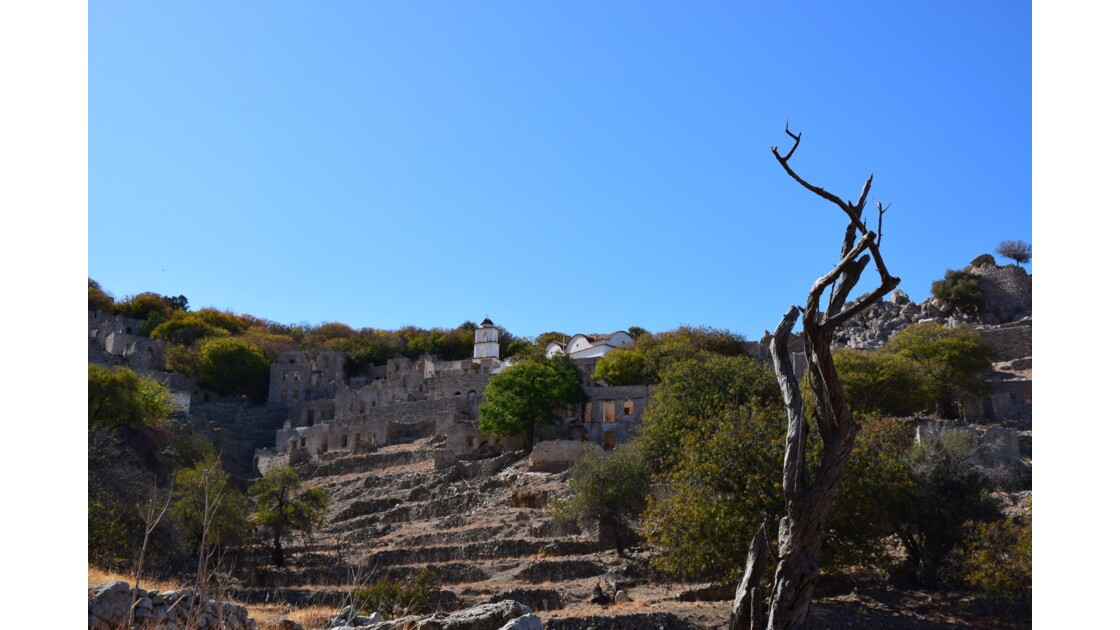 Village abandonné de Mikro Horio