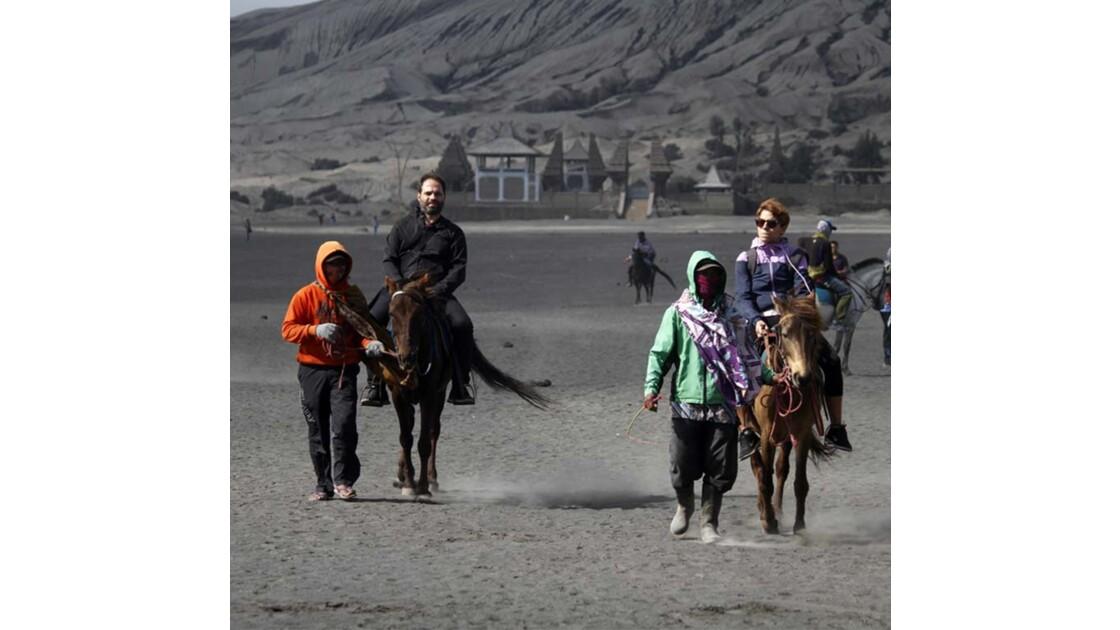 Bromo horse ride