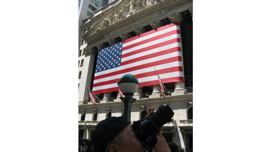 Photographies de la Bourse de New York