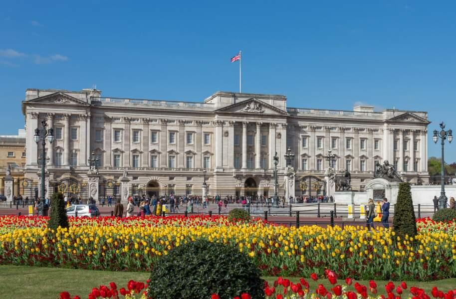 7 - Le palais de Buckingham à Londres, Royaume-Uni