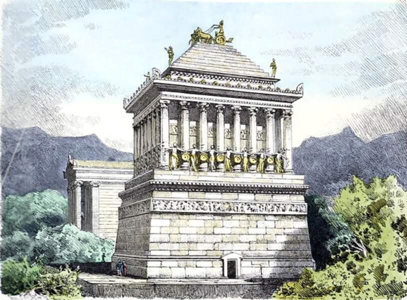 Le tombeau de Mausole à Halicarnasse