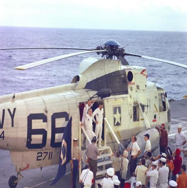 Apollo 8 : le commandant a mis les gaz...
