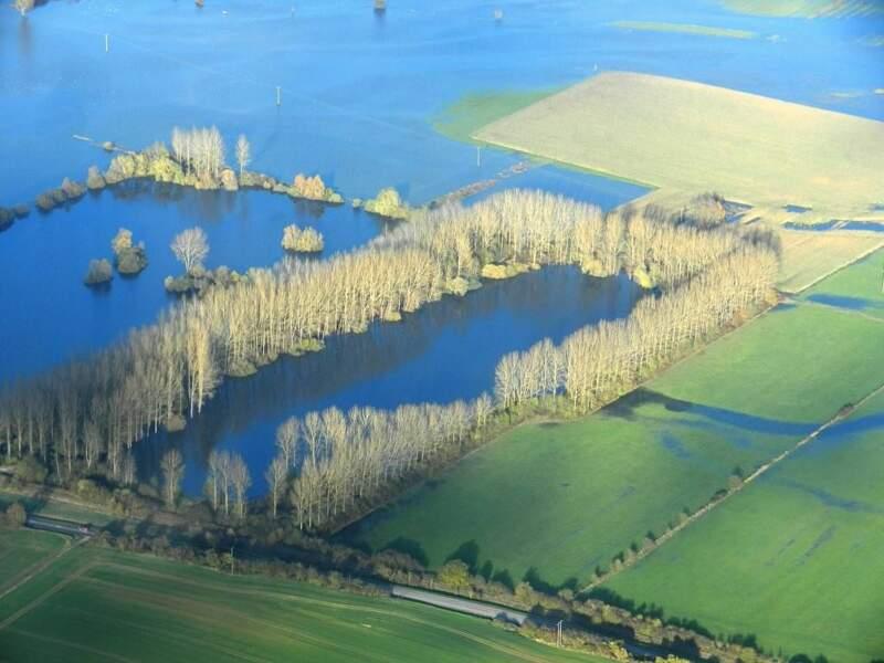 Photo prise sur les rives de la Meuse (Lorraine), par denise
