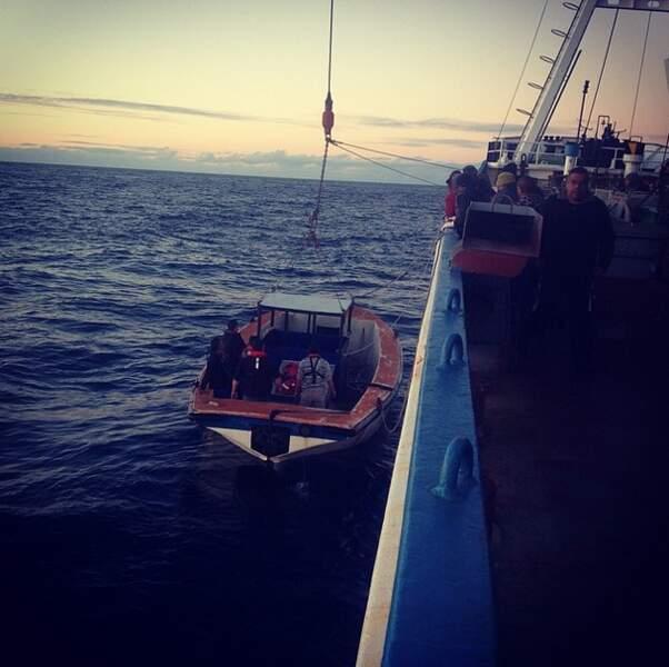 De l'art et la manière de débarquer sur Tristan da Cunha.