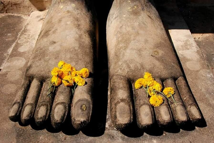 Photo prise à Sukhothai, en Thaïlande, par alisha
