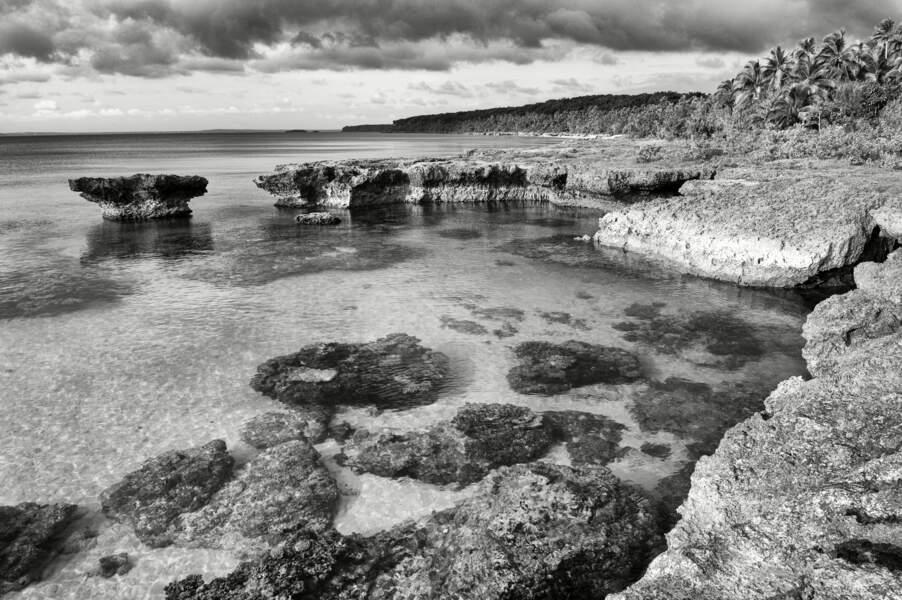 Un ancien atoll
