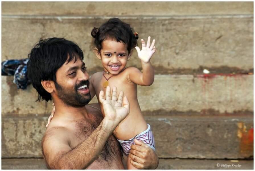 Photo prise à Vanarasi (Inde) par le GEOnaute : phkrucker