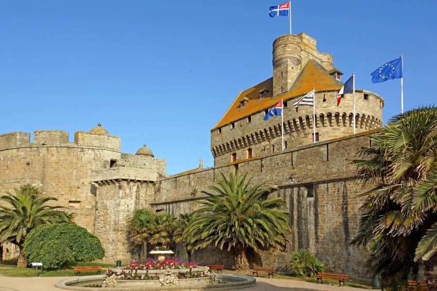 Visiter le château de Saint-Malo, pour les amateurs de monuments historiques