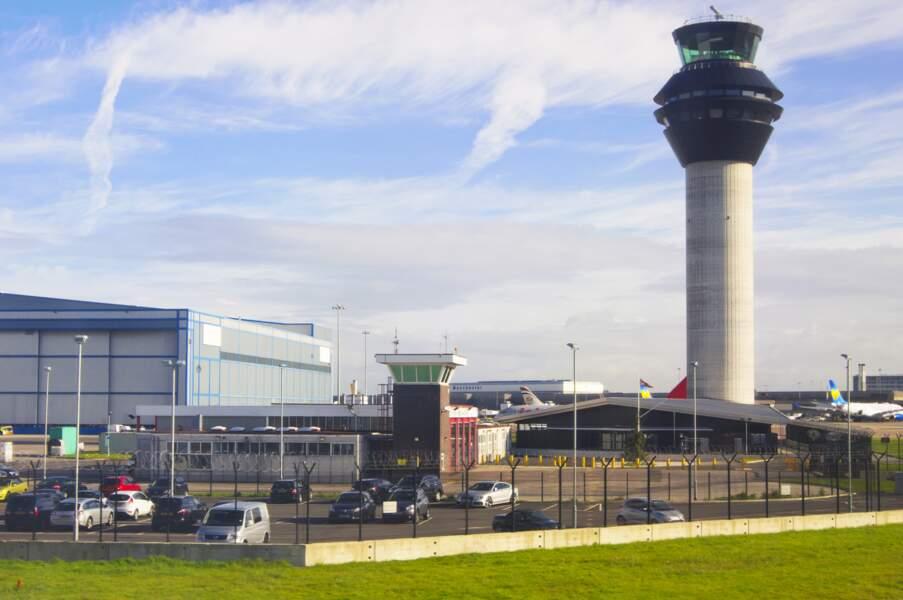 5 - Aéroport de Manchester, Royaume-Uni