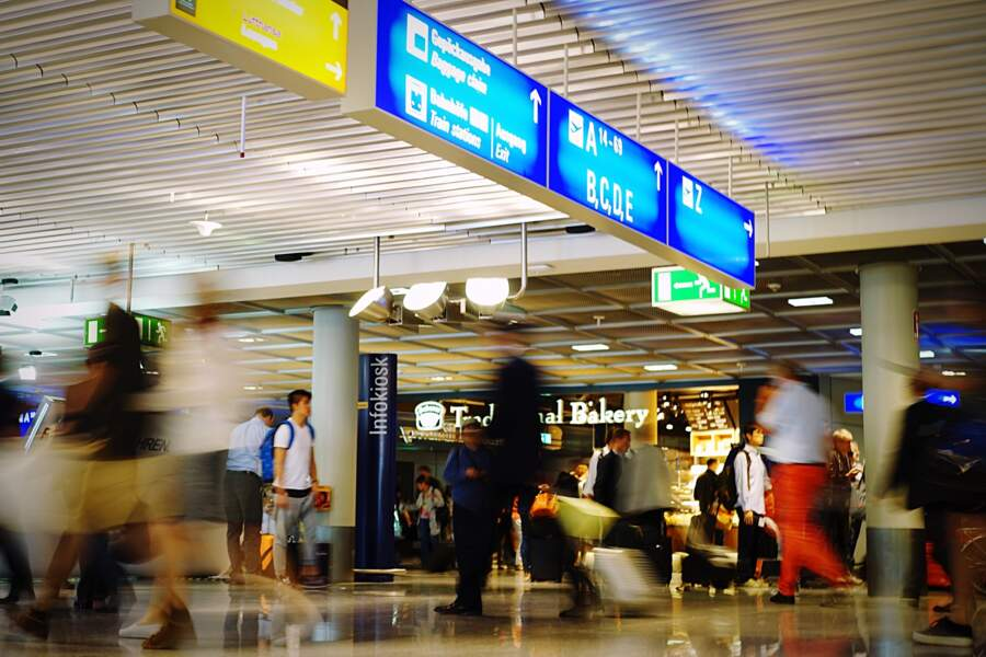9 - Aéroport de Francfort, Allemagne