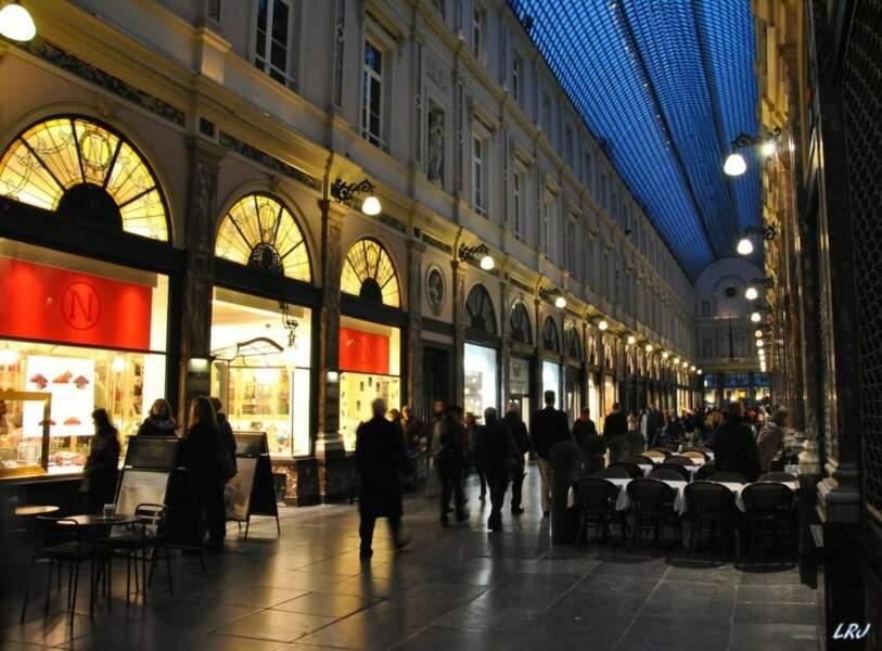 Galeries royales Saint-Hubert, à Bruxelles, en Belgique par montaigne
