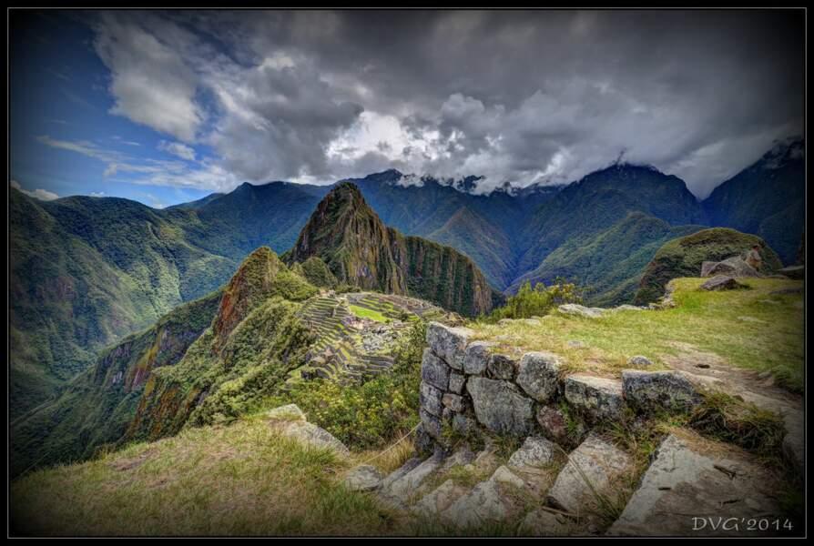 Site inca du Machu Picchu, au Pérou