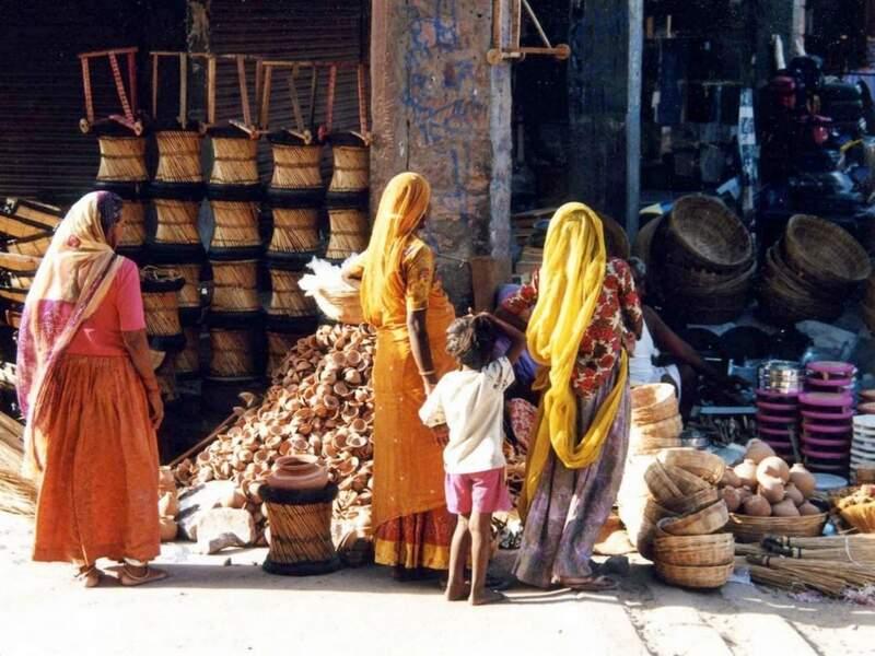Sardar bazar à Jodhpur, par Anne-Marie Dagard