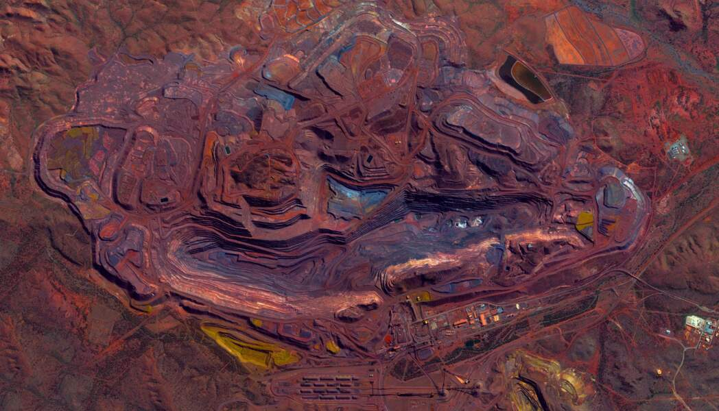Mount Whaleback en Australie