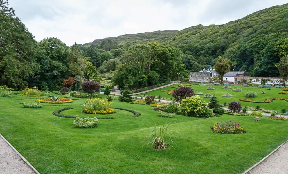 Jardins de l'abbaye de Kylemore, Connemara