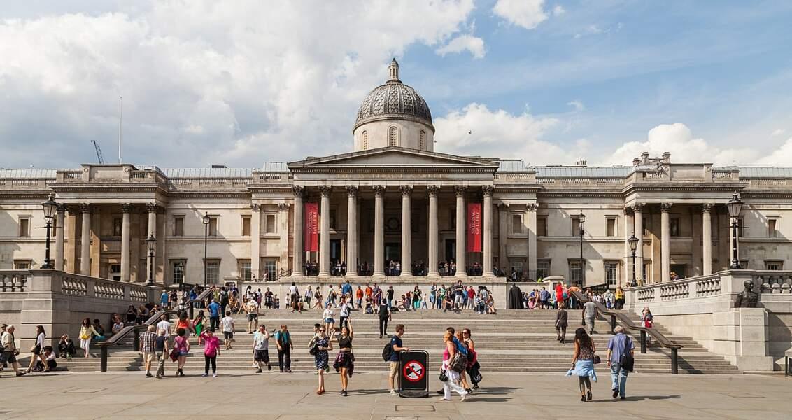 7 - La National Gallery, Londres (Royaume-Uni)