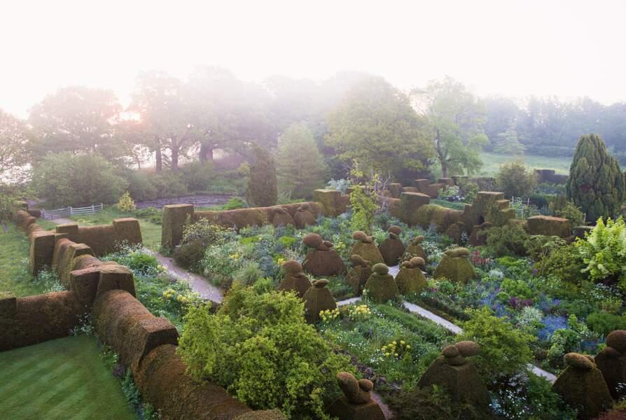 Great Dixter, Northiam, Rye, Sussex de l'Est, Angleterre