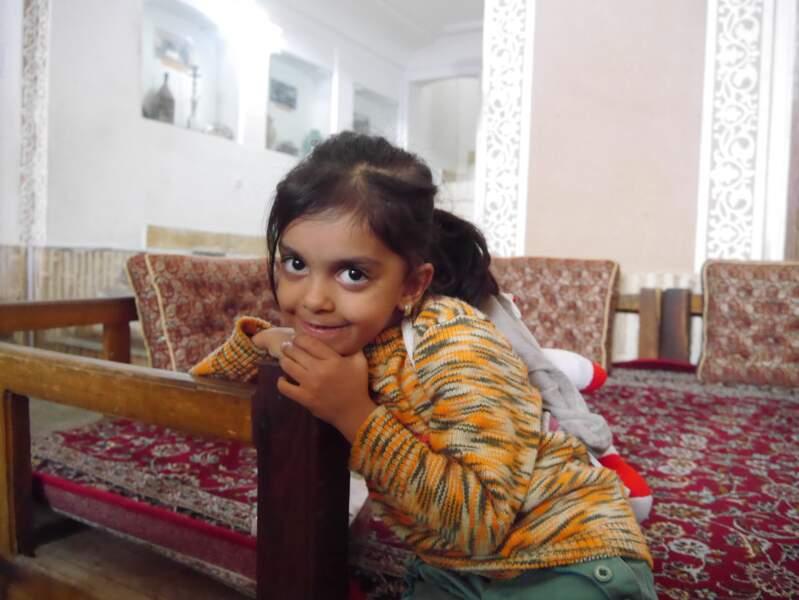 Fillette à Yazd