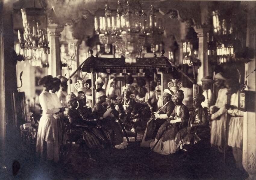 Pudukkottai, Inde, 1858