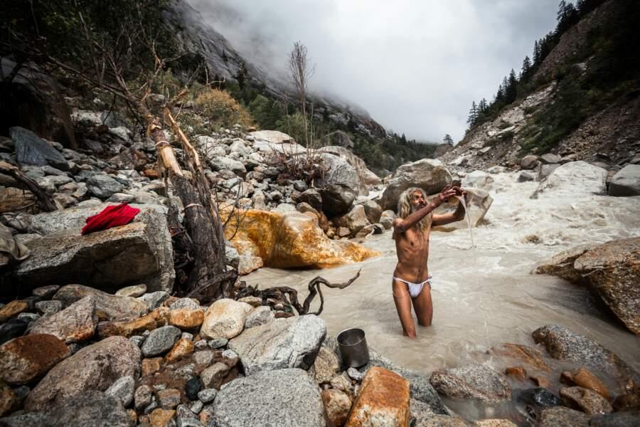 Le sâdhu et la déesse Ganga