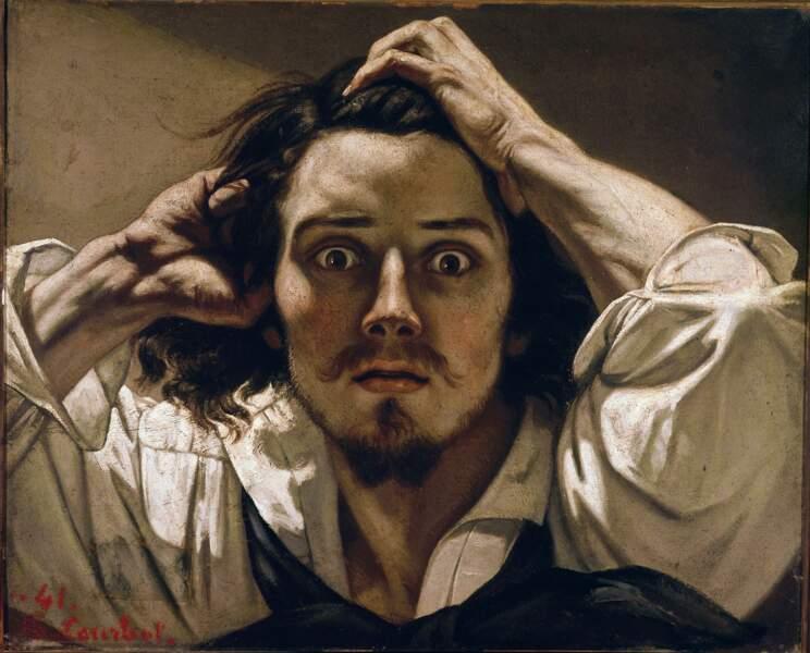 Le désespéré, Gustave Courbet ( 1819-1877)