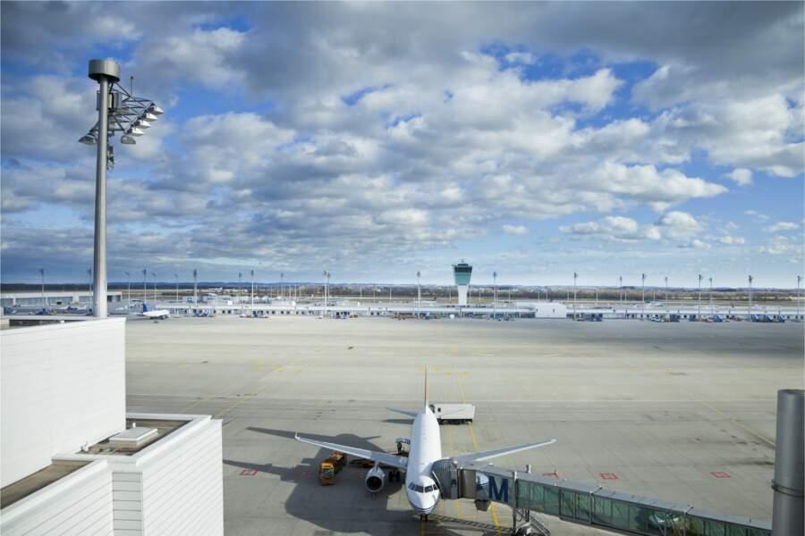 10 - Aéroport de Munich, Allemagne
