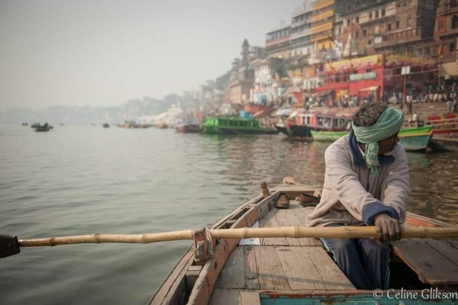 Photo prise à Bénarès (Inde) par Celine Glikson