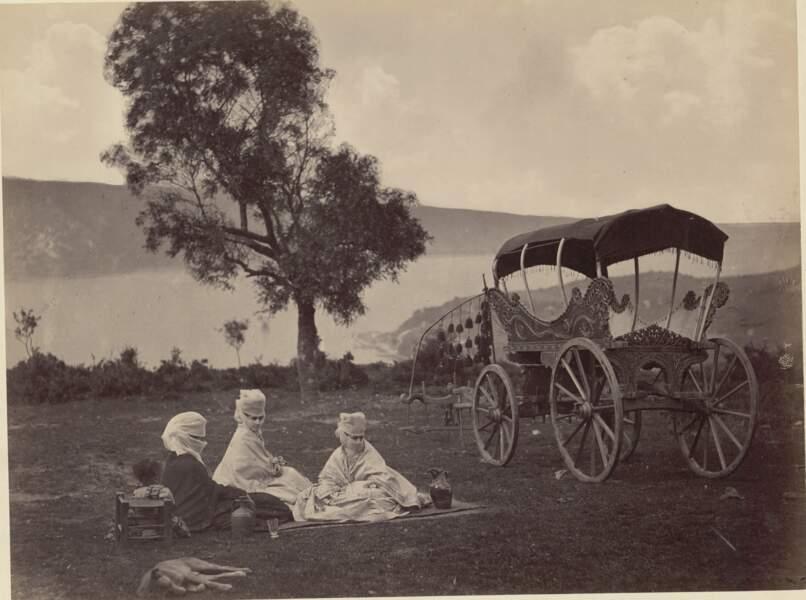 Panorama du Bosphore, années 1860