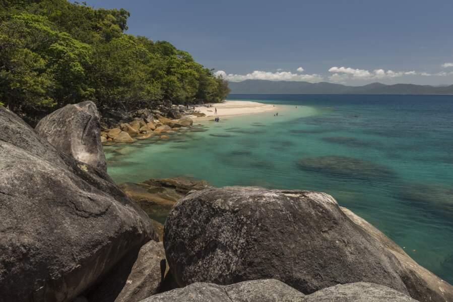 Plage de Nudey Beach, sur l'île Fitzroy