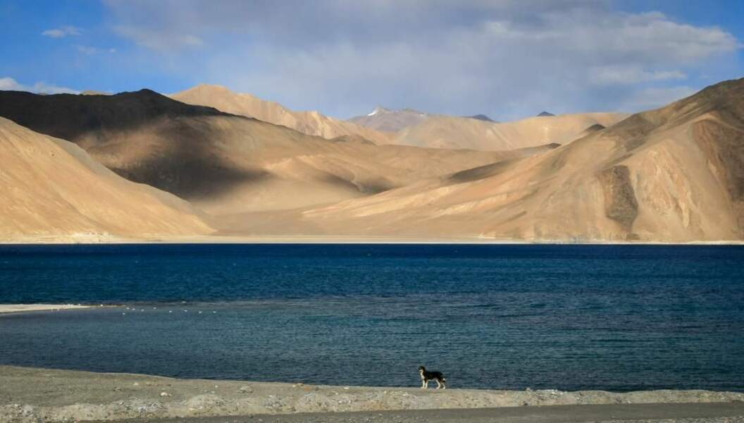Photo prise au lac Pangong Tso (Chine et Inde) par vio trieves
