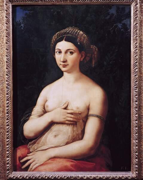 La Fornarina, Raffaello Sanzio dit Raphael (1483 - 1520)
