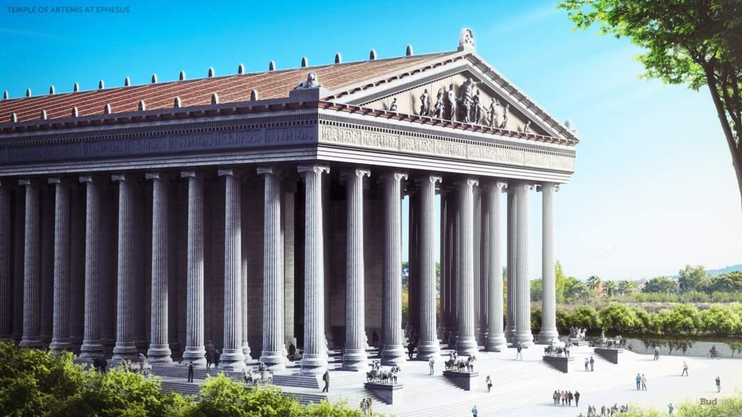 7 - Le temple d'Artémis à Éphèse