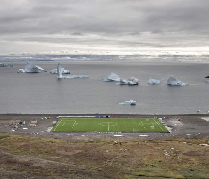 Qeqertarsuaq,  dans le sud de l'île de Disko (Groenland)