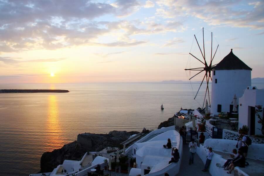 Santorin, visas en or pour les Cyclades