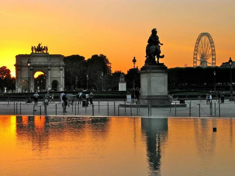 Photo prise au Jardin des Tuileries à Paris par le GEOnaute : izo