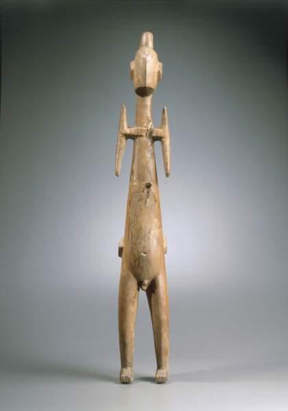 Sculpture anthropomorphe du dieu Rao, 10e siècle