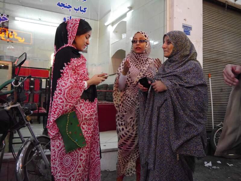 Scène de vie à Yazd