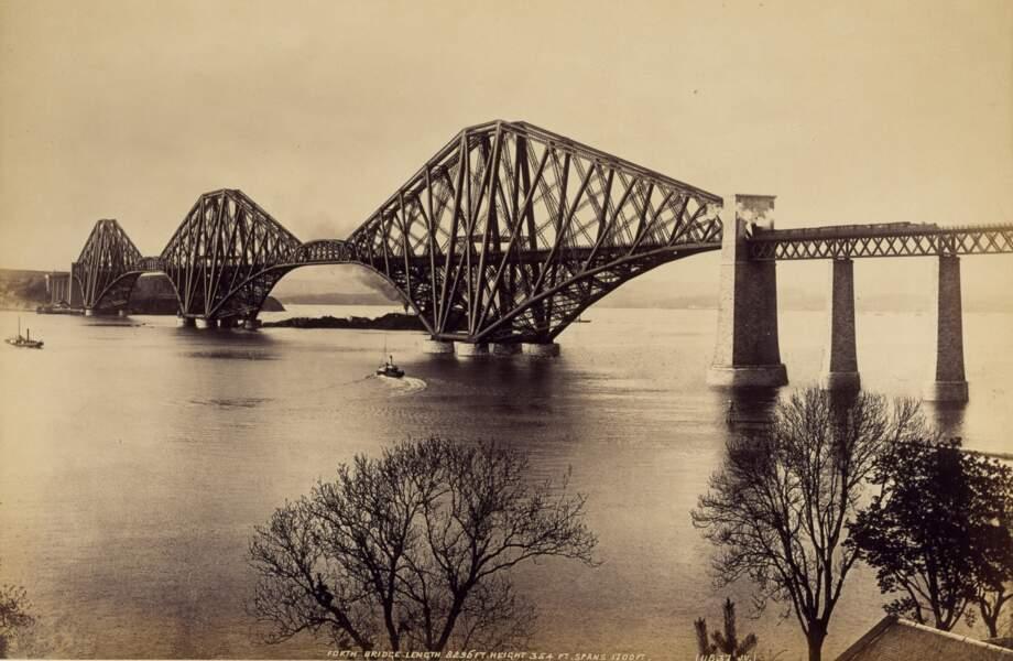 Pont du Forth, Royaume-Uni, 1890