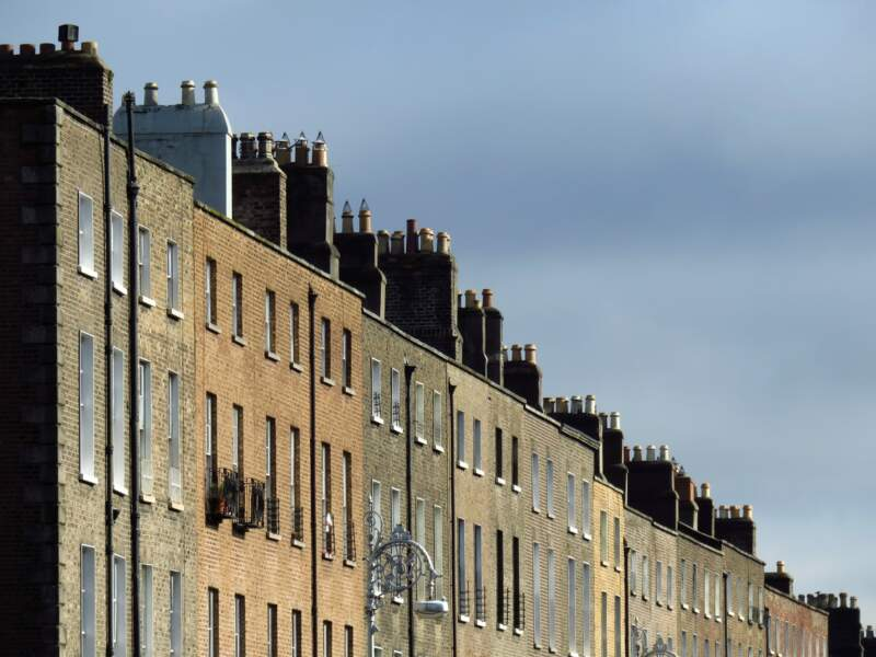 Façades à Dublin