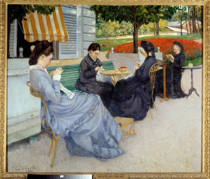 Portraits à la campagne, Gustave Caillebotte (1848-1894)