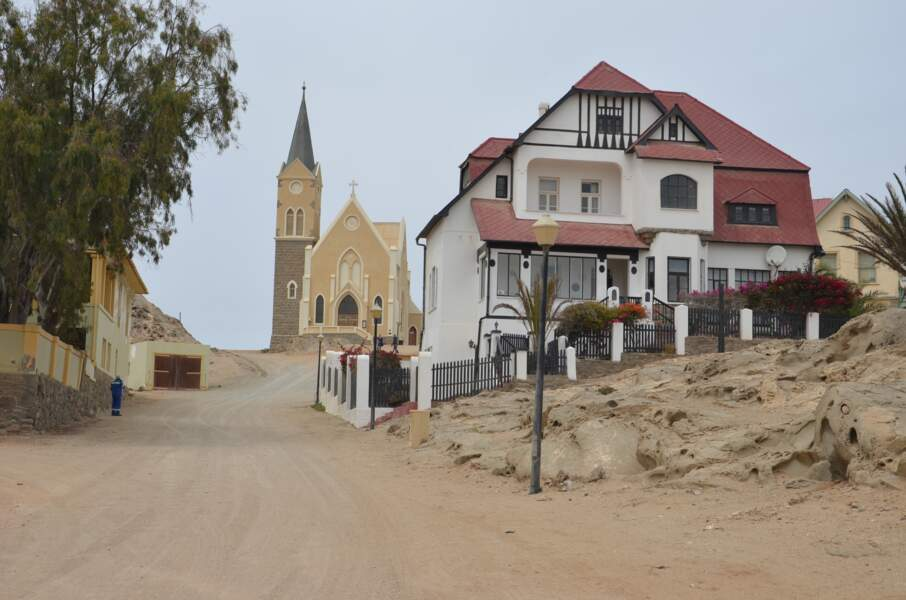 """""""L'église sur le rocher"""" de Lüderitz"""