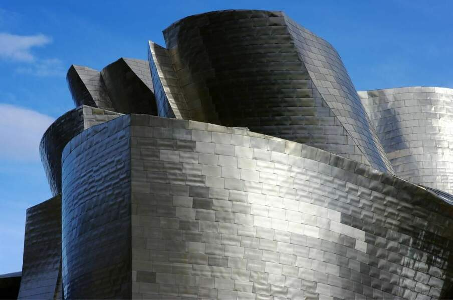 Musée Guggenheim, à Bilbao, en Espagne (photo du GEOnaute Jean-Yves PALFRAY)
