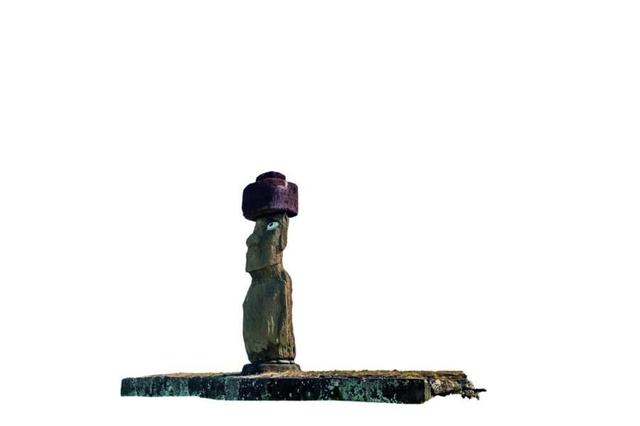 Moai de l'ahu Kote Riku