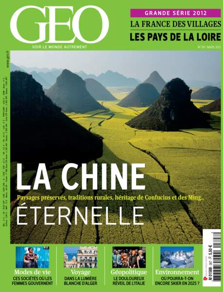 Un reportage paru en mars 2012 dans le magazine GEO n°397