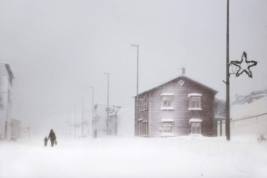 Village d'Ólafsfjörður
