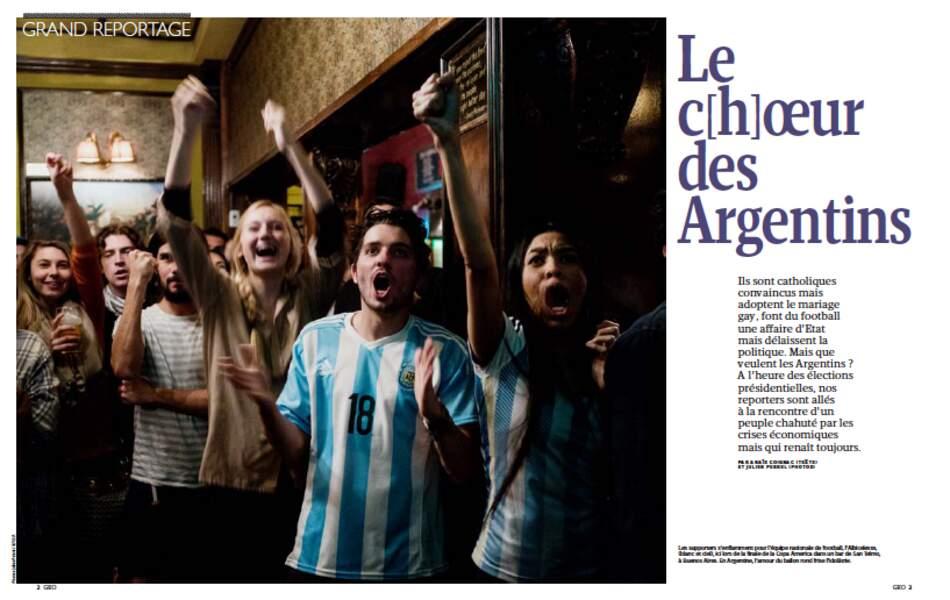 GRAND REPORTAGE :  Le c[h]oeur des Argentins