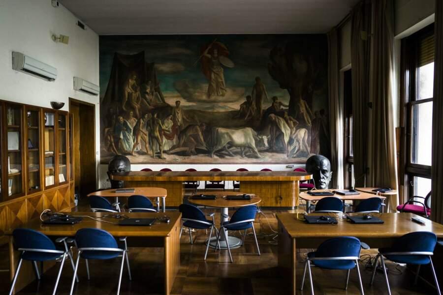 Salle de réunion dans le Palazzo Uffici