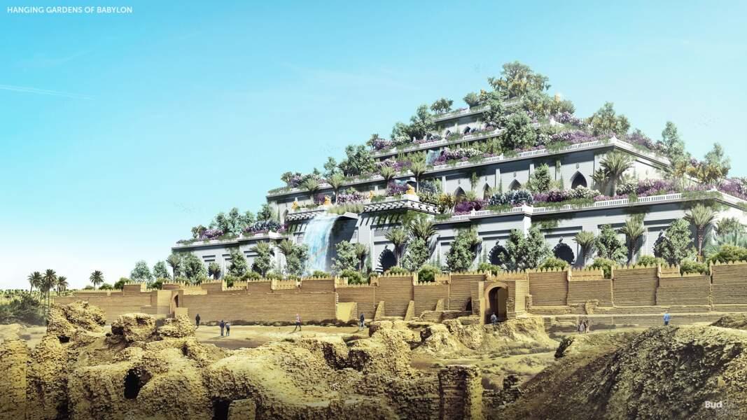 3 - Les jardins suspendus de Babylone